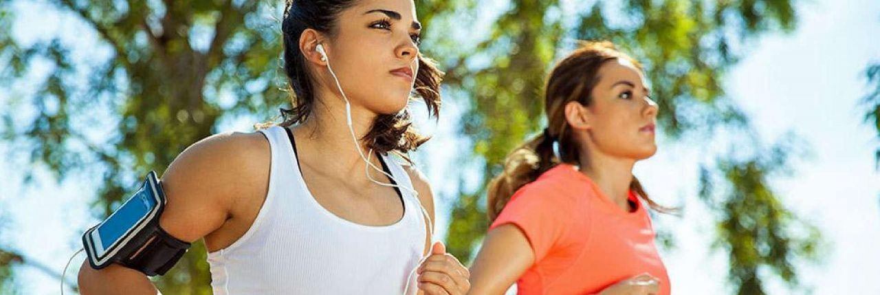 Music Makes Workout Easier