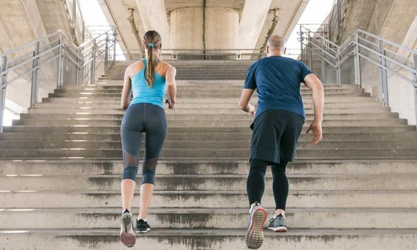 How to get a killer body by stair climbing and a smart diet? - 2