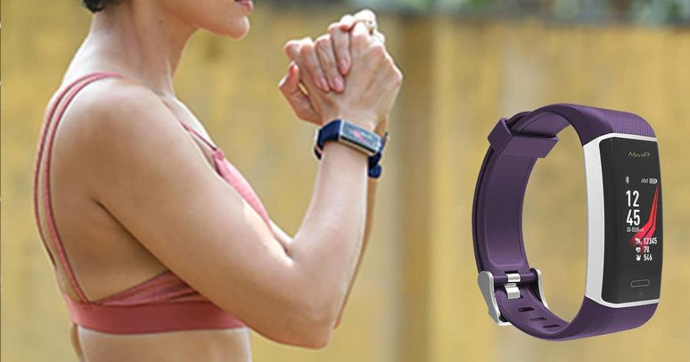 A premium fitness band, meant for the runner in you!