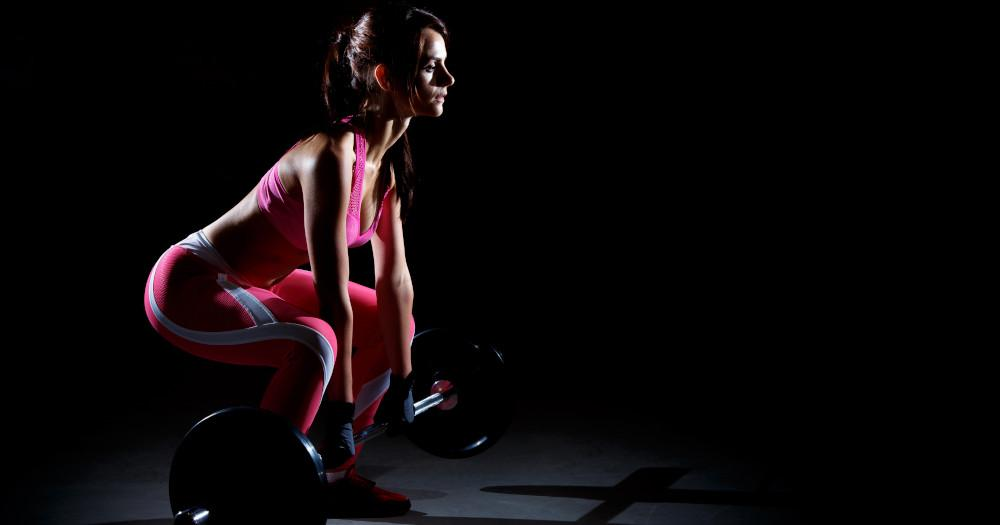 Barbell/dumbbell squats