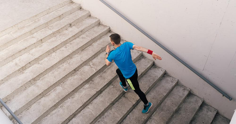 How many calories can you burn from climbing stairs?