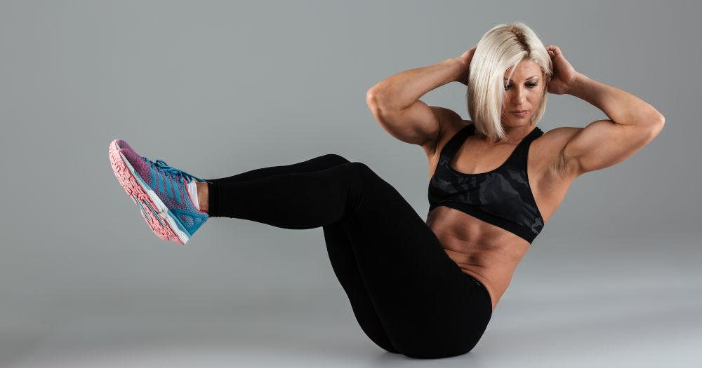 Keep your core tight throughout the exercise
