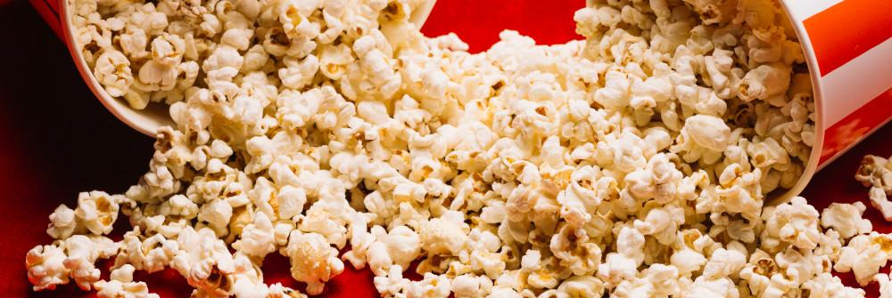 Low-Calorie air-popped popcorn