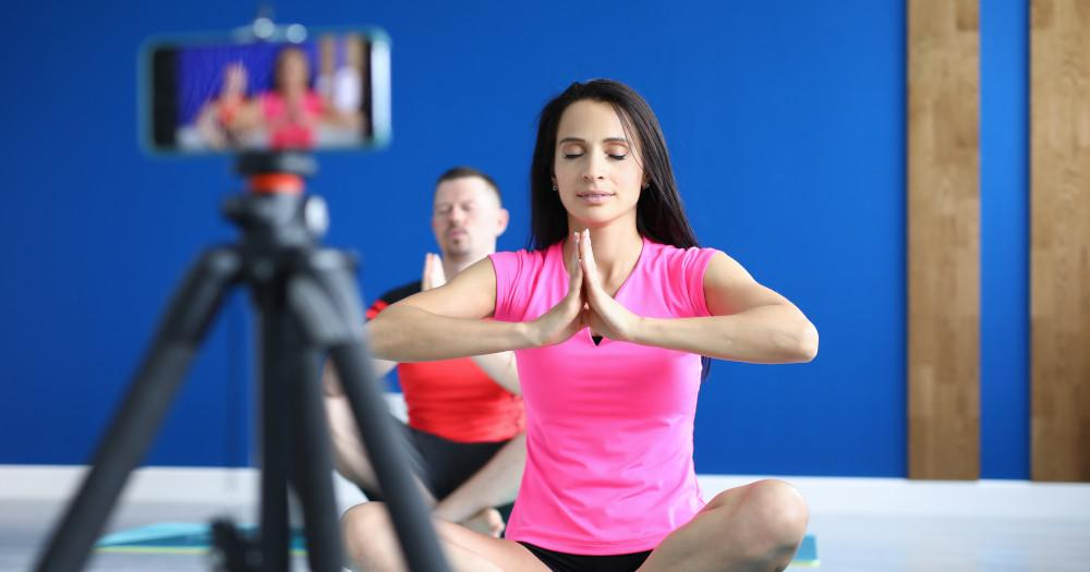 Online Personal Assistance For Virtual Yoga Session At Home
