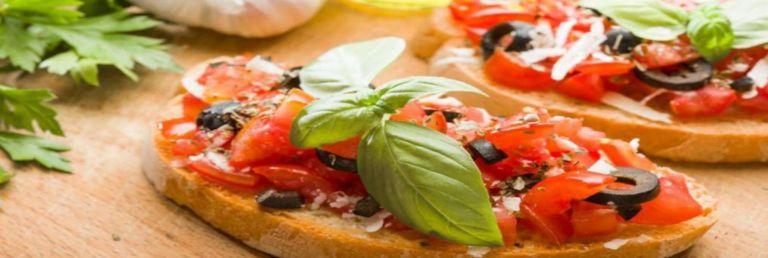Best Italian Balsamic Bruschetta with Cheese Recipe Mevolife