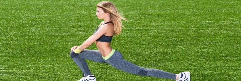 Burn Fat With Lunges