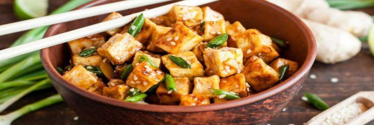 Hot & Spicy Stir Fried Tofu with Mushroom Healthy Recipe Mevolife
