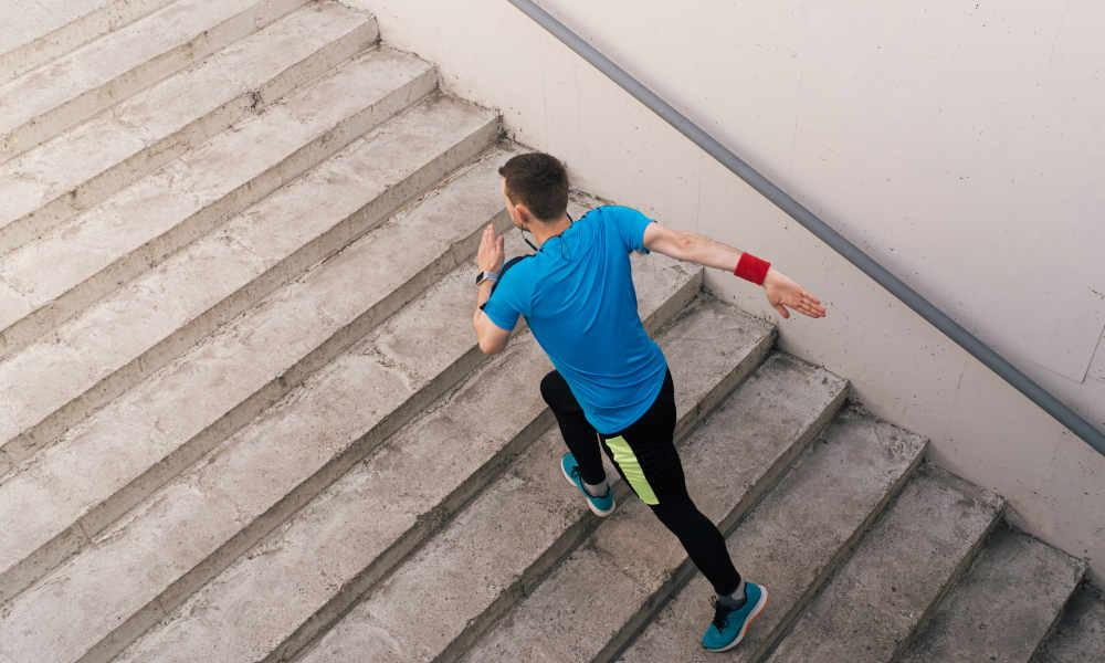 Some of the simple types of stair workouts are highlighted as under –