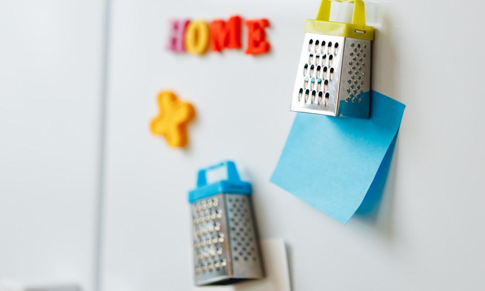 Sticky activity list on your pantry door