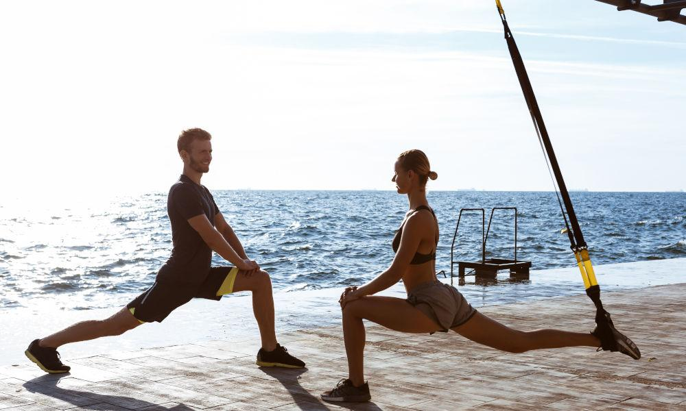 TRX Suspended Lunges