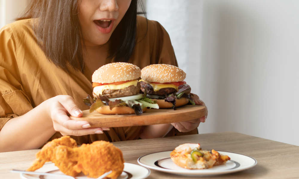 What to do after binge eating for a week?