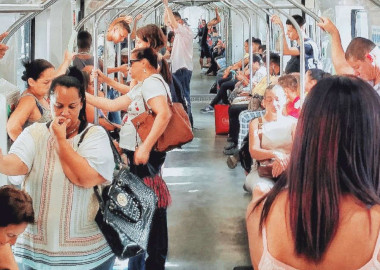 SWITCH TO PUBLIC TRANSPORT TO LOSE WEIGHT