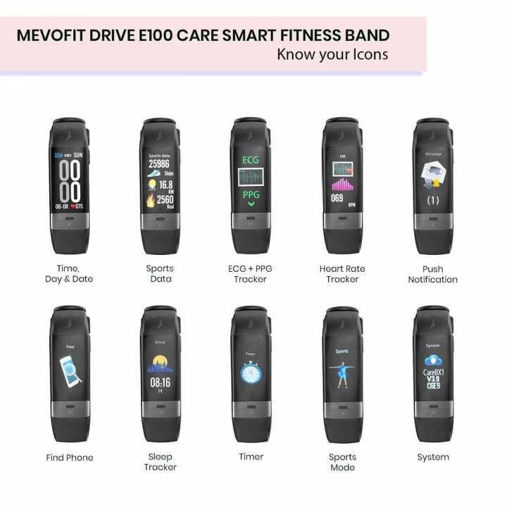MevoFit Drive E100 Care